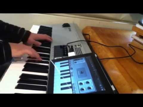 Yamaha MO8 to iPad's GarageBand - Detailed Review Pt.1