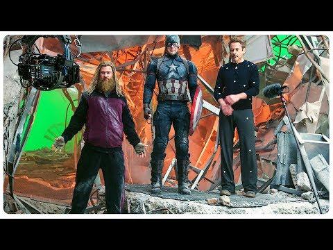 AVENGERS ENDGAME Bloopers - Gag Reel & Outtakes + Deleted Scenes (NEW 2019) Superhero Movie HD