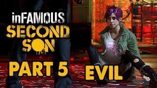 inFamous: Second Son Evil Walkthrough Part 5 - Go Fetch - Evil&Expert Playthrough