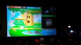Super Smash Con 2016 Grand finals Crowd reaction