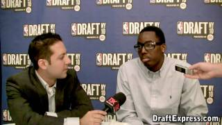 Al-Farouq Aminu - 2010 NBA Pre-Draft Media Day - DraftExpress
