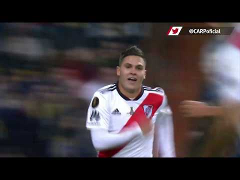 Gol de Juan Fernando Quintero en la final de la Copa Libertadores