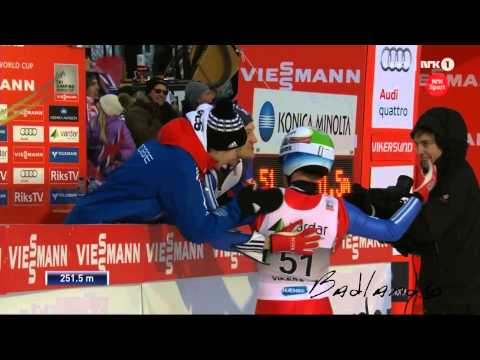 new world record ski jump! 251,5m amazing!