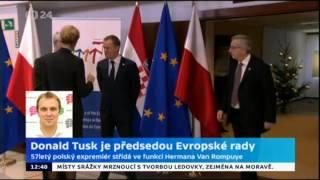 Donald Tusk v čele Evropské rady