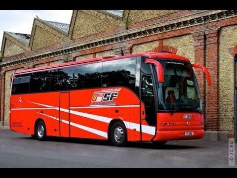 Супер трюки на школьном автобусе!