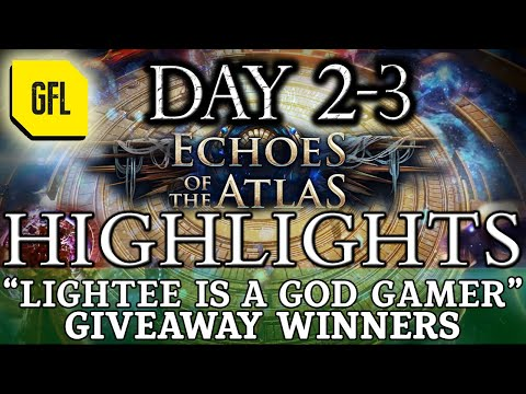"Path of Exile 3.13: RITUAL DAY #2-3 Highlights ""LIGHTEE IS A GOD GAMER"", GIVEAWAY WINNERS ANNOUNCED."