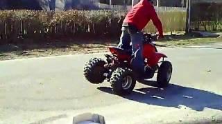 6. 90cc 2 stroke ATV quad
