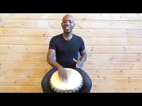 Exercise 2: How to play the djembe lesson – african drum and rhythm training