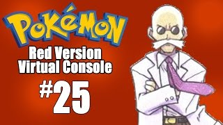 Pokemon Red Virtual Console - Episode 25: GYM NUMBER 7 by SkulShurtugalTCG