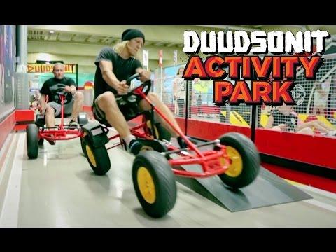 Pääkaupunkiseudun ensimmäinen Duudsonit Activity Park Isoon Omenaan