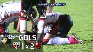 Gols - Atlético-GO 1 x 2 Flamengo - 2º Jogo Oitavas Copa do Brasil 2017 (ida FLA 0 x 0 ATG) - 24/05/2017 Narração: Luís Roberto, Comentários: Maestro Júnior ...