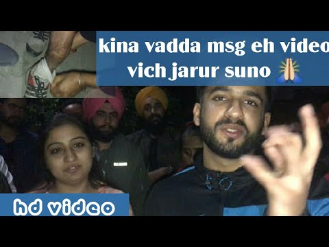 Kina Vadda Msg Eh Video Vich Jarur Suno | ANMOLKWATRA (Official Video)