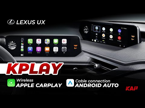 LEXUS UX Carplay & Android AUTO 2019~2020