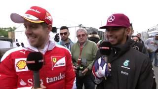 Hamilton (ON) Canada  city photos : Hamilton, Vettel & Seagulls LOL !!! F1 Montréal Canada 2016