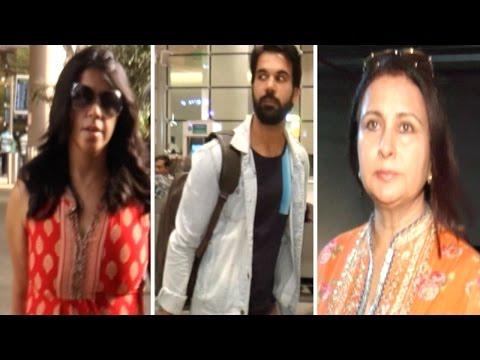 Rajkummar Rao, Ekta Kapoor And Others Spotted At M