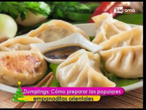 Dumplings: Cómo preparar las populares empanaditas orientales