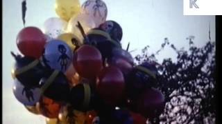 Ringwood United Kingdom  City new picture : 1960s Ringwood Carnival, Fairground Rides, UK Colour Home Movie Archive Footage