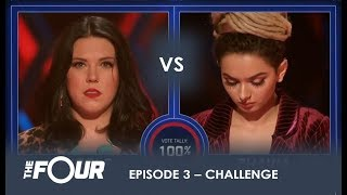 Video Nicole vs Zhavia: The First REAL Challenge For Zhavia Will She Survive? | S1E3 | The Four MP3, 3GP, MP4, WEBM, AVI, FLV Januari 2018