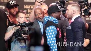 Floyd Mayweather the HARD WORKER vs Conor McGregor the GENTLEMAN DANK