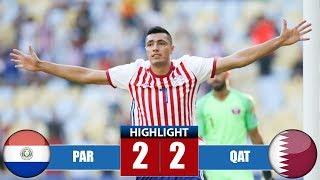 Video Pаrаguаy vs Qаtаr 2-2 Highlights & Goals | Resumen y Goles | Cоpа Аmériса MP3, 3GP, MP4, WEBM, AVI, FLV Juni 2019