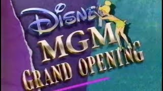 1989 The Disney-MGM Studios Theme Park Grand Opening