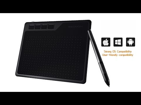 GAOMON GIVEAWAY Android Compatible Graphics Tablet S620