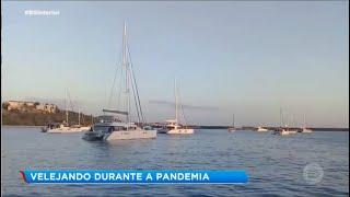 Casal de velejadores bauruenses está atracado no Caribe