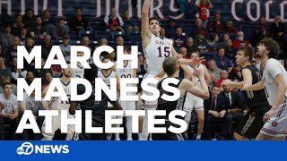 Check out the Bay Area athletes playing in March Madness