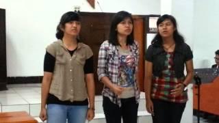 Selalu Bersamaku & God is Able (Perform by Eli - Ola - Yeni)