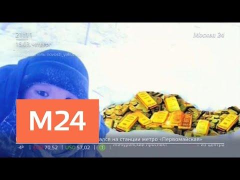 До 122 млн долларов могут стоить 9 тонн слитков в самолете под Якутском - Москва 24