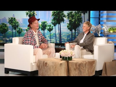 TheEllenShow - He told Ellen about his exciting new project with Sofia Coppola.