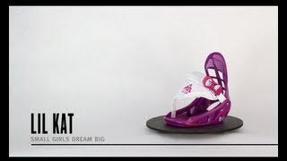 K2 Lil Kat Snowboard Bindings 2014