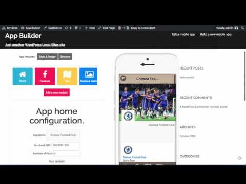 Mobile App Builder for WordPress Sneak peek!
