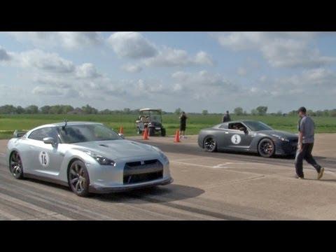GT-R's DIG RACE