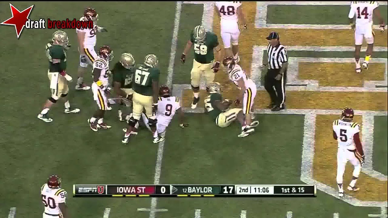 Lache Seastrunk vs Iowa State (2013)