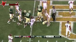 Lache Seastrunk vs Iowa State (2013)