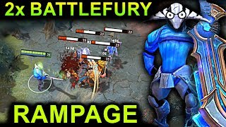 Video SVEN 2x BATTLEFURY RAMPAGE DOTA 2 NEW META GAMEPLAY #7  (FUNNY, FAILS AND RAMPAGE MOMENTS) MP3, 3GP, MP4, WEBM, AVI, FLV Juli 2018