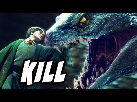 Why Didn't the Basilisk DESTROY the Horcrux in Harry? - Harry Potter Explained