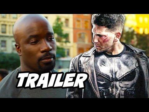 Luke Cage Season 2 Trailer and The Punisher Season 2 Jigsaw Scene Explained