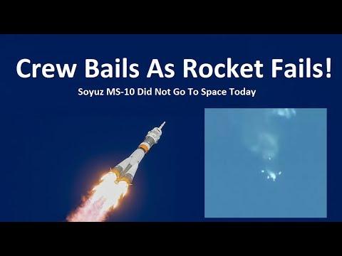 Astronauts Escape Failing Rocket - Soyuz Did Not Go To Space Today_A héten feltöltött legjobb űrhajó videók