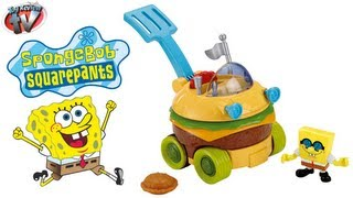 Imaginext SpongeBob Squarepants Patty Wagon Toy Review, Fisher Price
