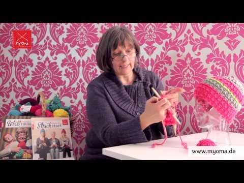 Stricken lernen mit den Omas – DIY Beanie Mütze für Anfänger