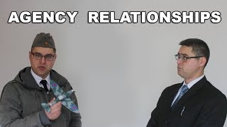 Which of these relationships are agency?