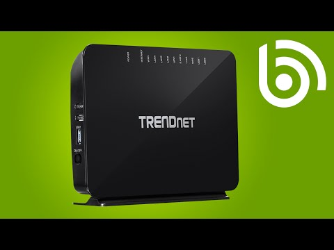 TRENDnet TEW-816DRM VDSL/ADSL2+ WiFi Router introduction