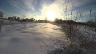 5. Bennche bighorn 700 plowing snow