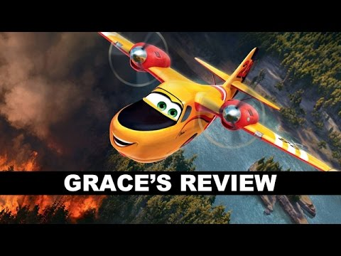 review trailer - Planes Fire and Rescue movie review! Beyond The Trailer host Grace Randolph shares her review aka reaction today for Planes 2! http://bit.ly/subscribeBTT Planes Fire and Rescue Movie Review...