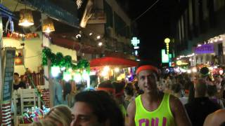 Full Moon Party Koh Phangan Thailand Happy New Year 2012