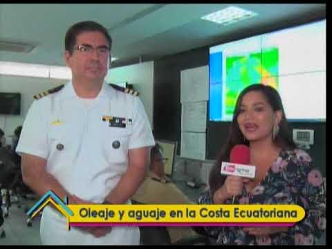 Oleaje y aguaje en la costa Ecuatoriana