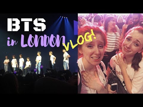 BTS LOVE YOURSELF TOUR IN LONDON VLOG