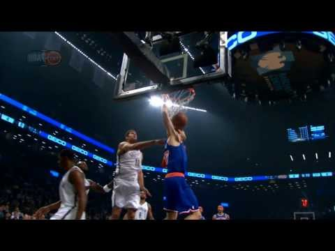 Video: Andrea Bargnani Blows by Garnett for the BIG Slam